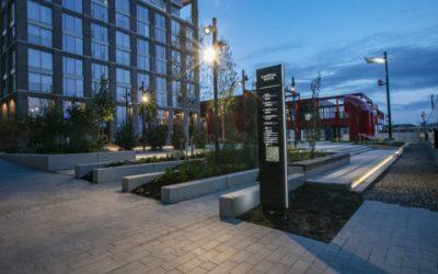 Hard Landscaping & Urban Furniture At Dublin's Capital Dock