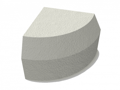 Solid Segment Vibrated Kerb