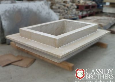 Donegal Sandstone Chimney Coping