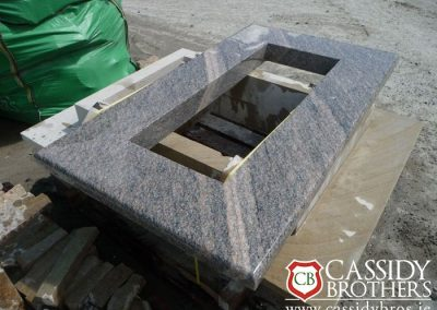 Granite Chimney Coping