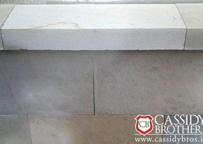 Donegal Sandstone Coping - Brush Finish