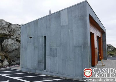 Irish Blue Quartz Polished Cladding