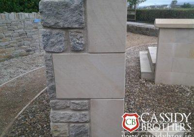 Donegal Sandstone Corner Stones
