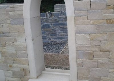 Donegal Sandstone Ashlar Cladding